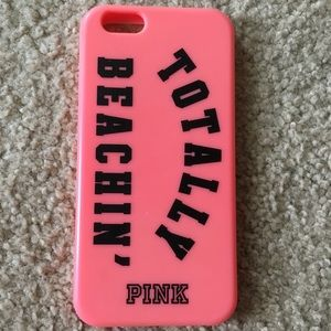 Victoria's Secret Pink Rubber iPhone 6/6s Case